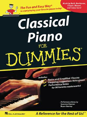 Classical Piano Music for Dummies By Sheston, Susanne/ Stanley, Bryan